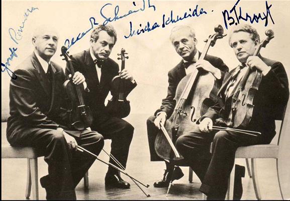 Mozart String Quartet K590